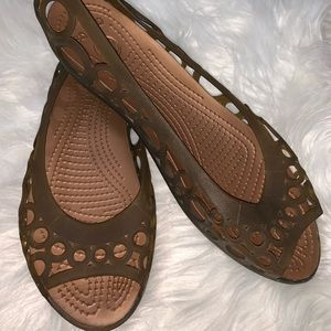 Crocs flat sandal